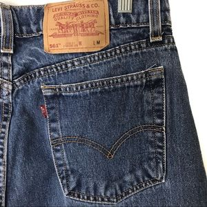 Levi's 561 high rise mom/boyfriend jeans 100% ctn